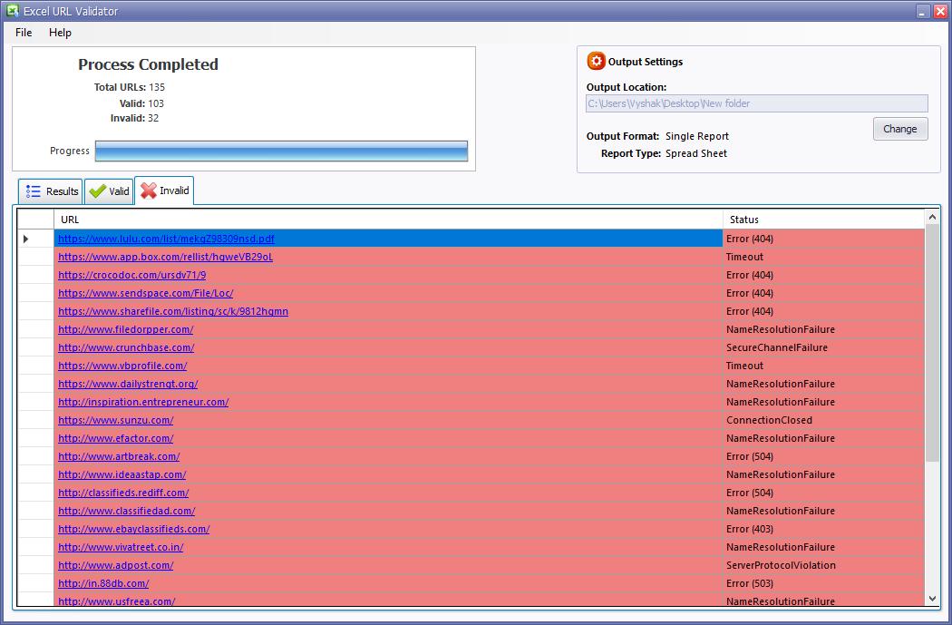 Excel Url Validator | Easily Validate URLs within Excel